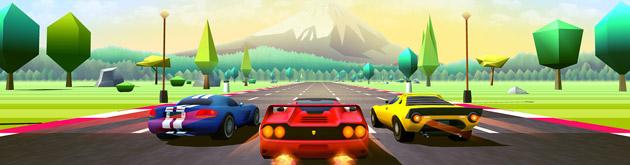 Horizon Chase Turbo im Test: Arcade-Zeitreise in modernem Gewand