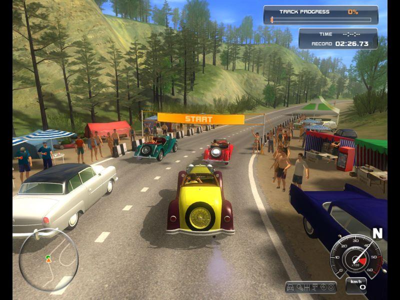 Classic Car Racing Screenshots Games Reveur De All About