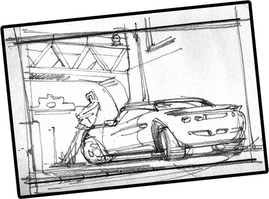 Driver San Francisco Neue Artworks Und Storyboard Zeichnungen