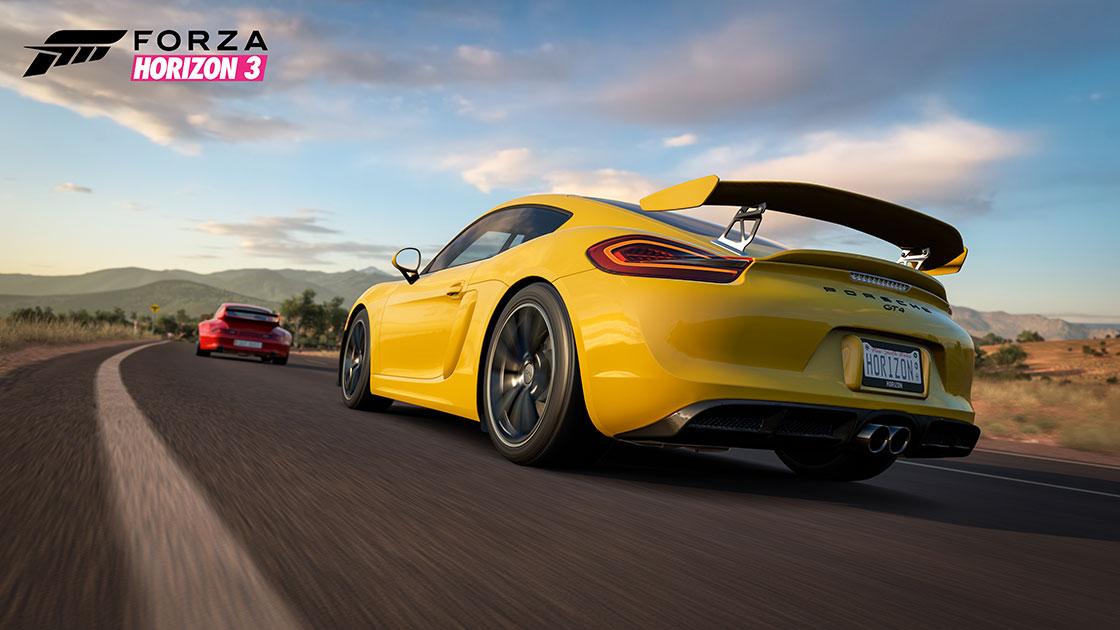 Porsche Car Pack für Forza Horizon 3 veröffentlicht