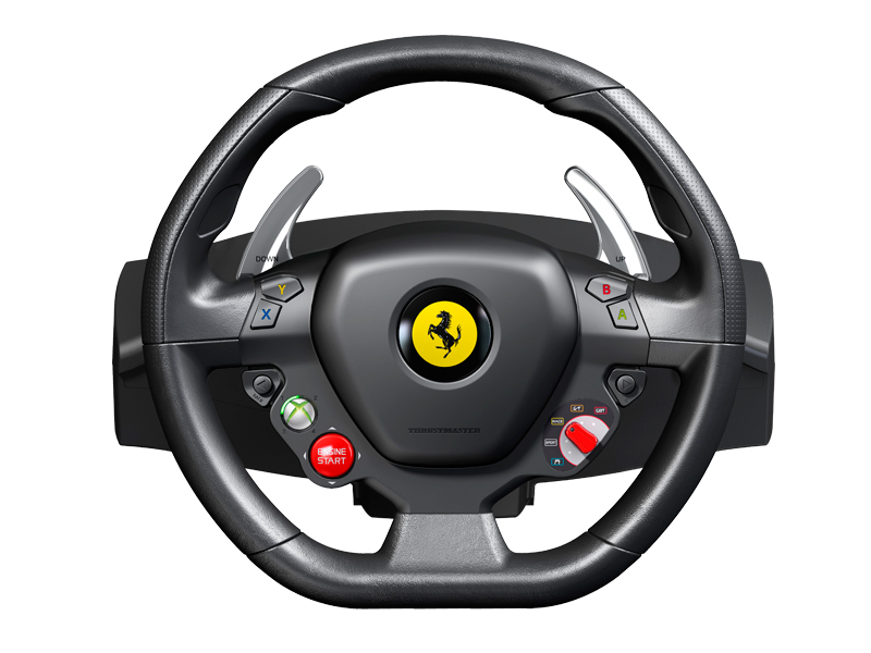 thrustmaster ferrari f458 italia wheel f r pc und xbox 360. Black Bedroom Furniture Sets. Home Design Ideas
