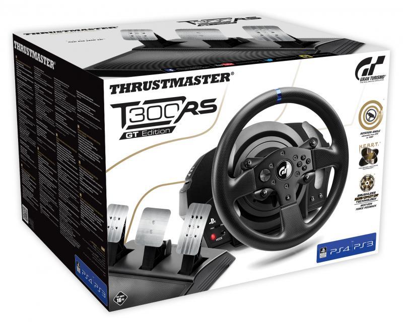 hardware thrustmaster t300rs gt edition vorgestellt. Black Bedroom Furniture Sets. Home Design Ideas