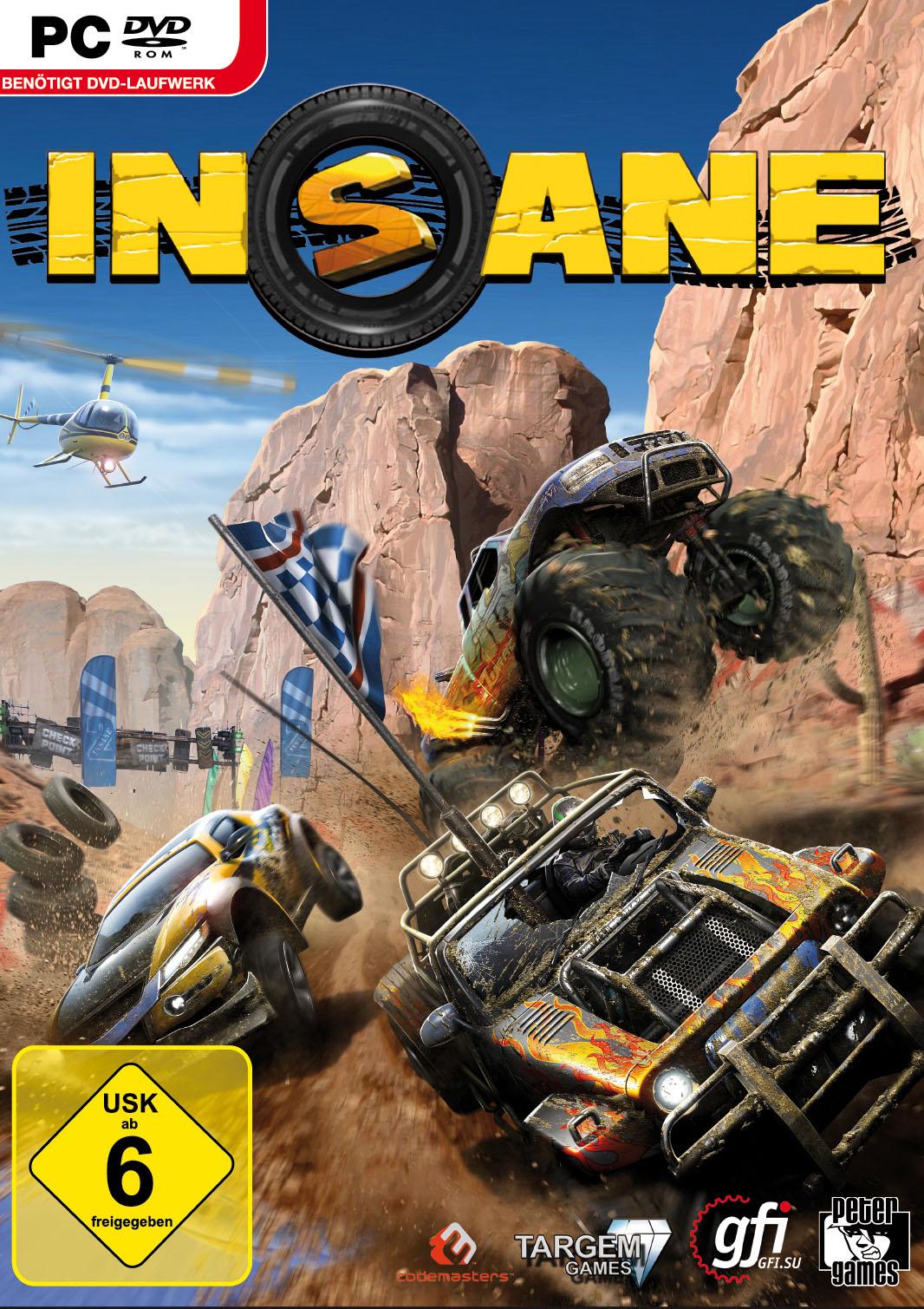 Insane 2: Das Rennspiel erscheint als DVD Version im Handel