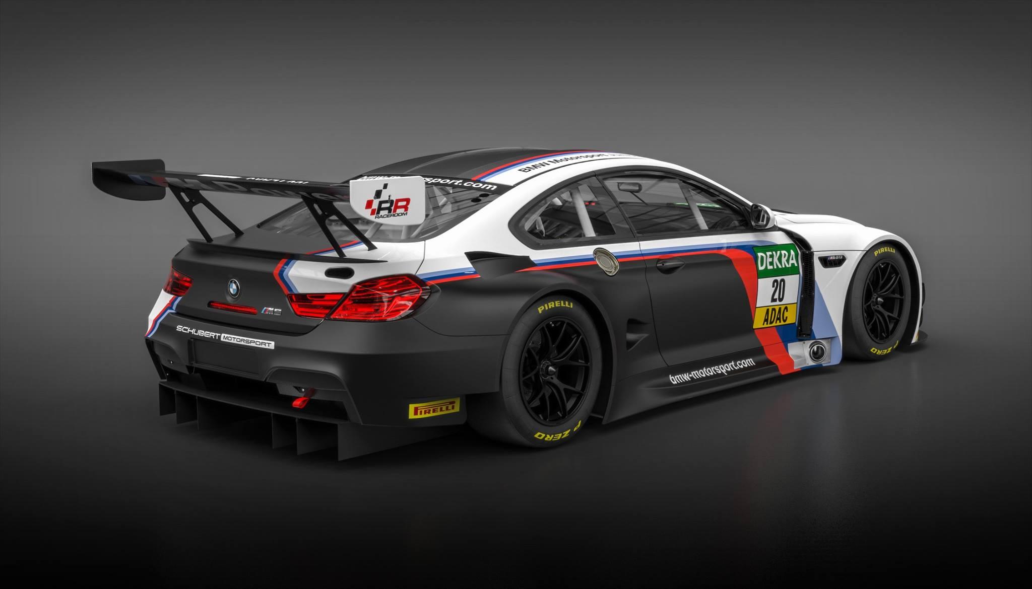 Raceroom Racing Experience Bmw Motorsport M6 Gt3 Lizenz