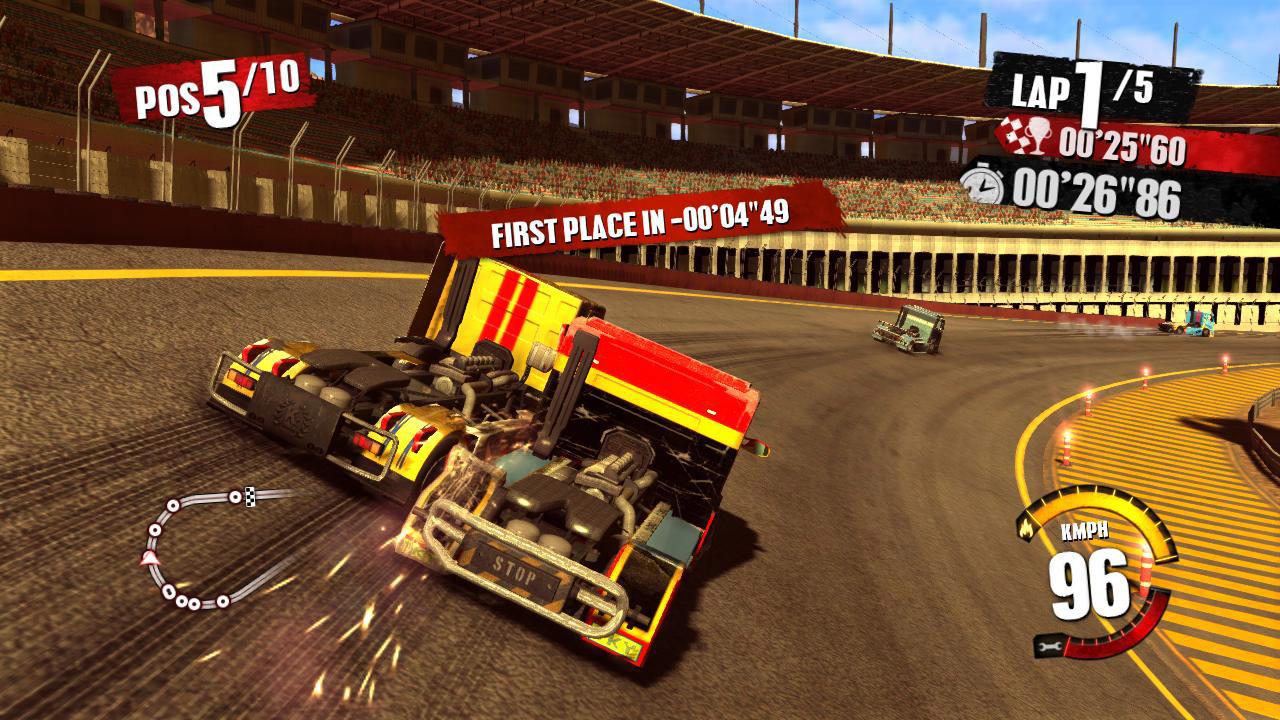Truck Racer: Truck Rennspiel von Milestone für Xbox 360 und PS3