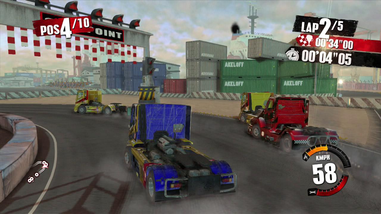 Truck Racer: Truck Rennspiel von Milestone f\u00fcr Xbox 360 und PS3